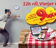 Đặt vé máy bay giá rẻ Vietjet Air